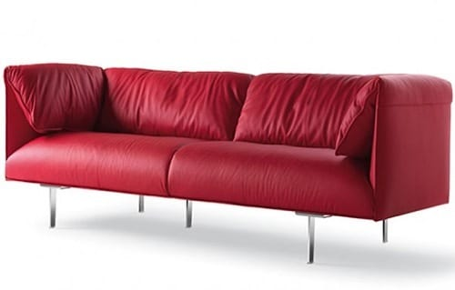 colored leather couches