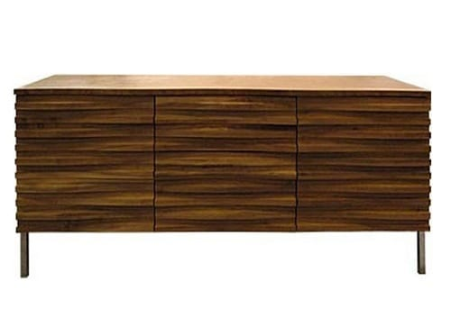 chic wooden sideboard