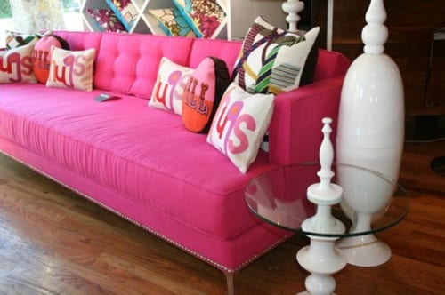 10 Pieces of Pink Furniture