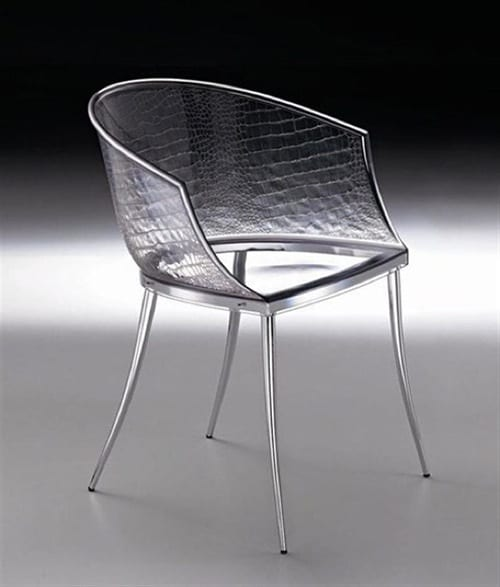 unique glass chairs