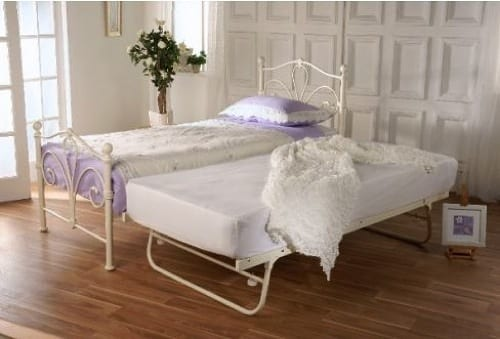 iron trundle bed