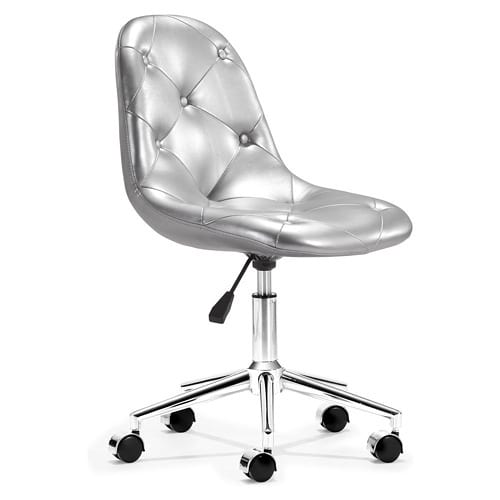 silver office chair