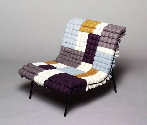 quilted easy chair