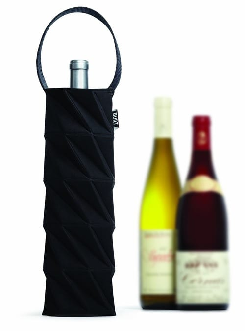 collapsible wine tote