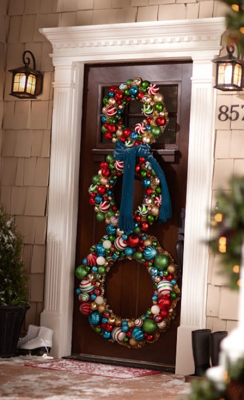 door length wreath
