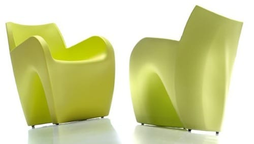 chartreuse chairs