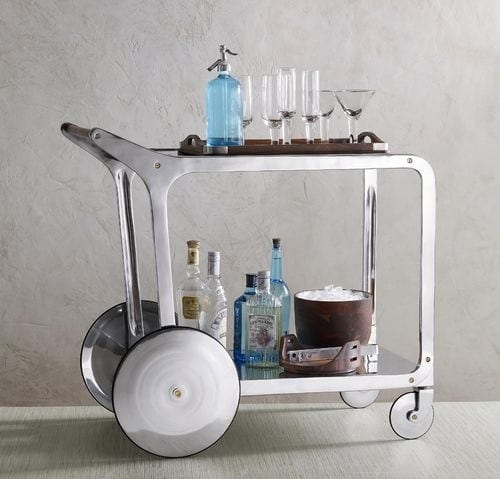 Retro Modern Bar Cart from Roost