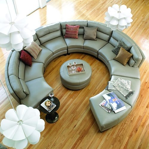 round sectional