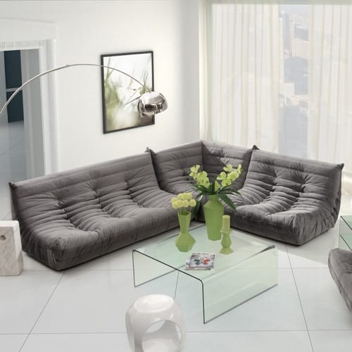 Tufted Sectional by Zuo Modern