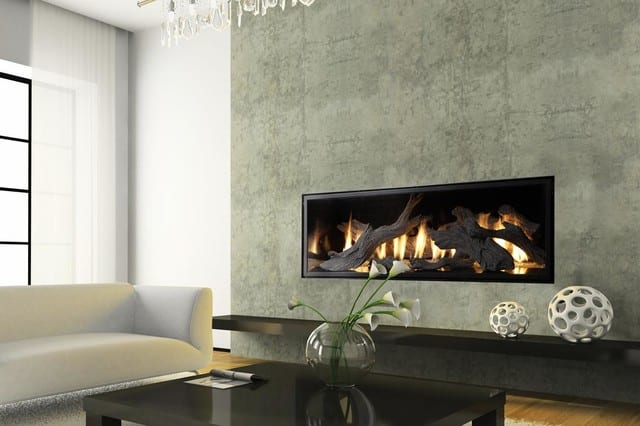 modern indoor fire places