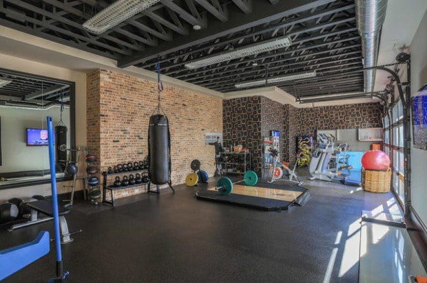 personal training room design