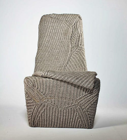 The Blanket Chair by Aga Brzostek