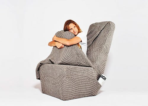 blanket chair design