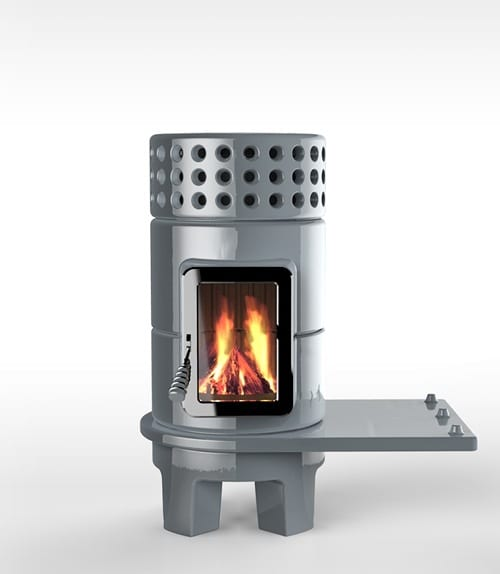 The Stack Stove: Cool Masonry Heater Design by Adriano