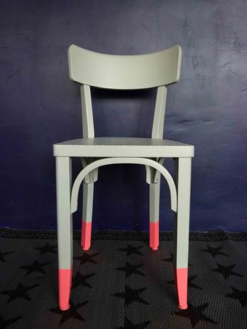 paint-dipped chairs