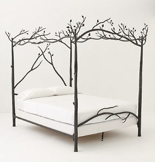 nature-inspired bed