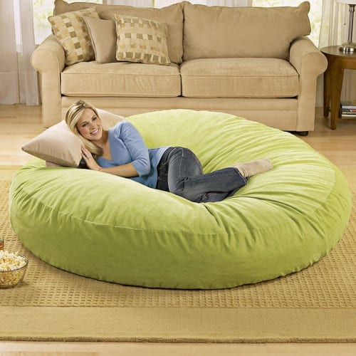 The Giant Beanbag Chair from Brookstone