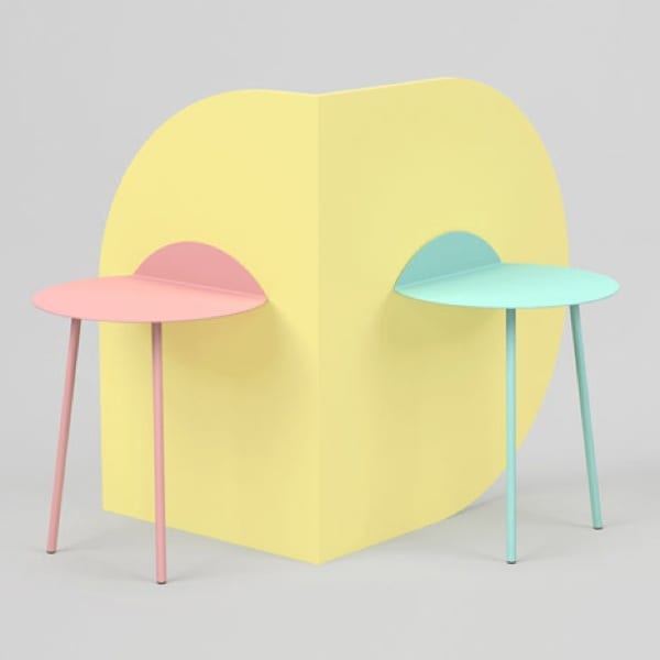 Creative Side Tables from Kenyon Yeh