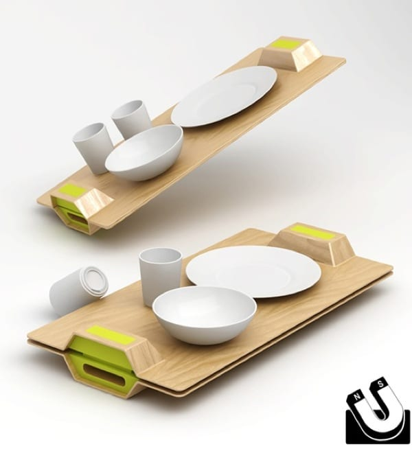 Magnetic Serving Tray by Ryan Jongwoo Choi