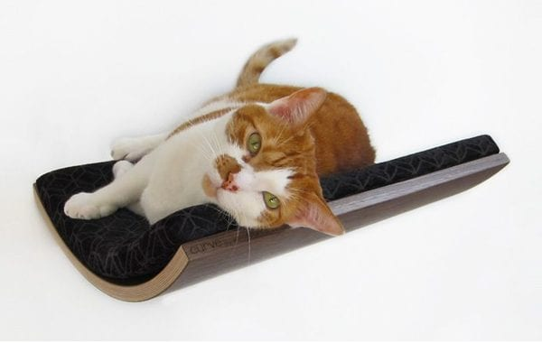 The Wall Mounted Cat Bed from Akemi Tanaka