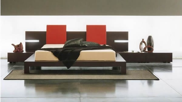 rosetto modern bedroom furniture
