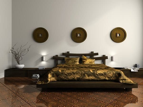 beds with asian design