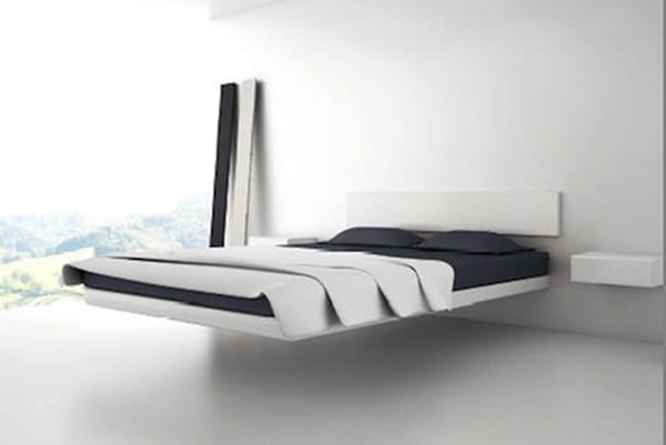 floating platform beds