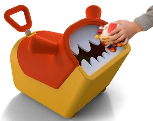 toy box with teeth