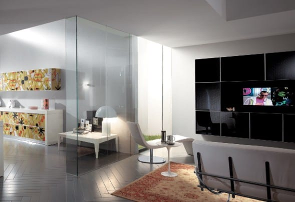 Living Crystal by Scavolini Creates Striking Colors for the Home 11