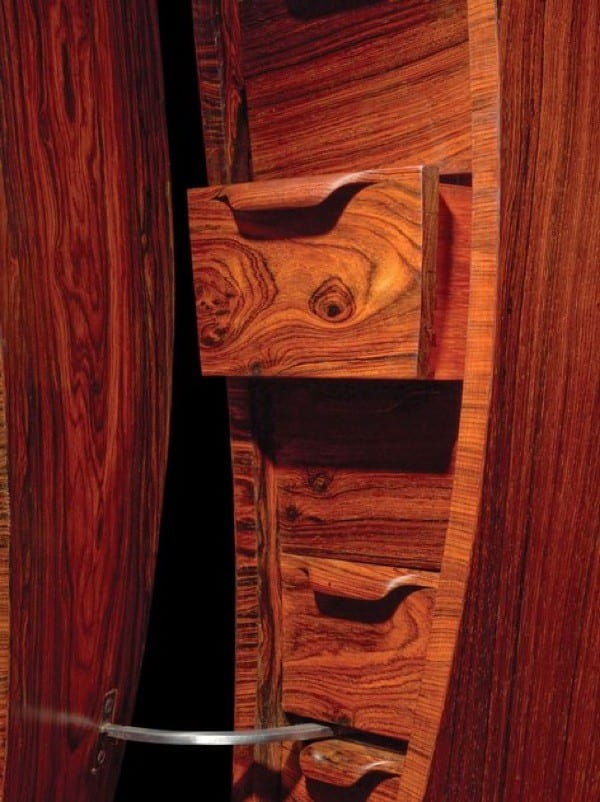 wood luxury storage