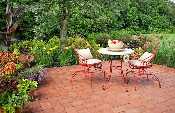 outdoor garden furniture iron