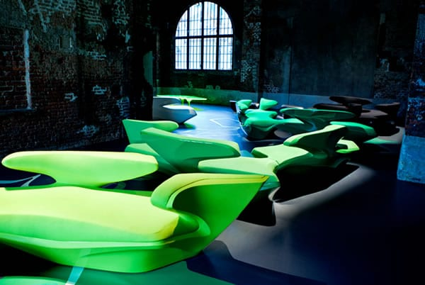 Zaha Hadid's Zephyr Sofa - Inspired By Nature