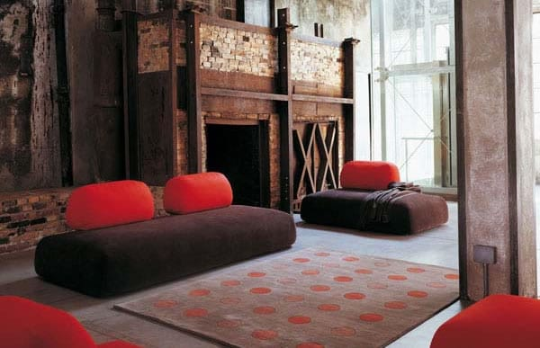 The Eye-Catching Cocoon Sectional from Arflex