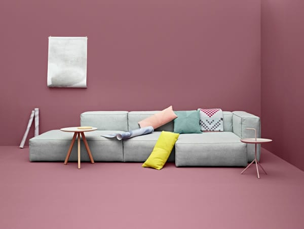 Relax in Playful Comfort: Mags Soft Sofa from Hay