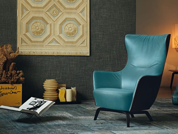 The Mamy Blue Armchair: Get Transported by Timeless Sophistication