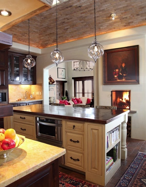 pendant lighting kitchen bar