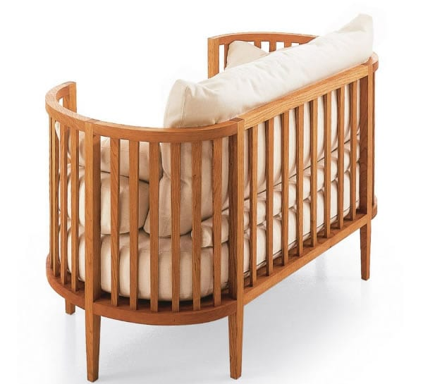 hardwood infants kids bed
