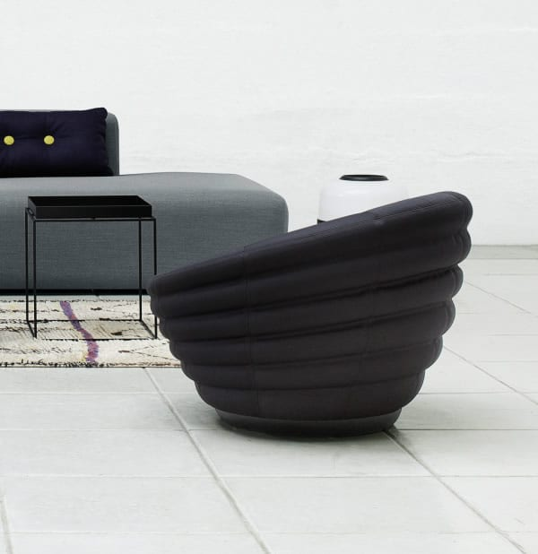 Modern Relaxation in the Blow Lounge Chair by Hay