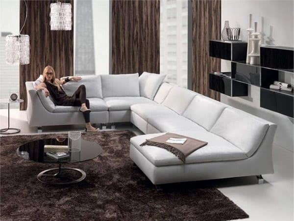 fancy sectional sofa design