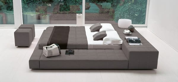 Squaring Bed by Bonaldo