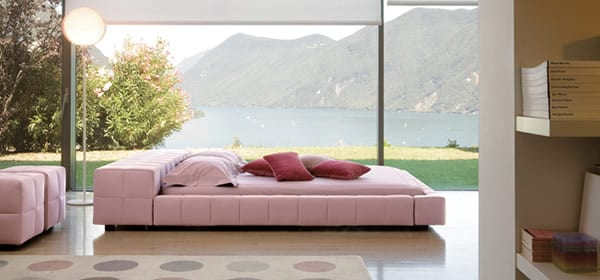 pink bed design ideas