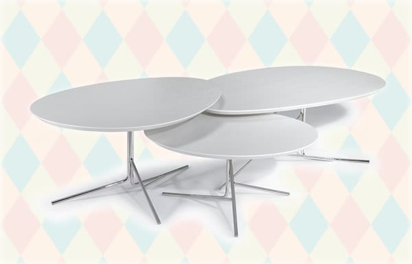 modern shaped tables