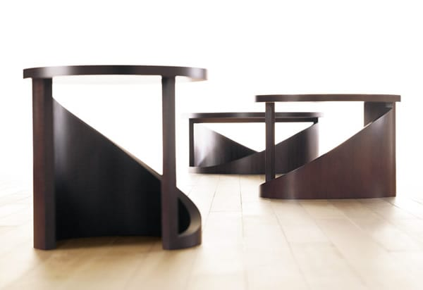 Create a Stir with The Wave Table by Bernhardt Design