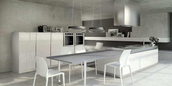 Giving the Cook Contemporary Style: The Alpha 2 Kitchen