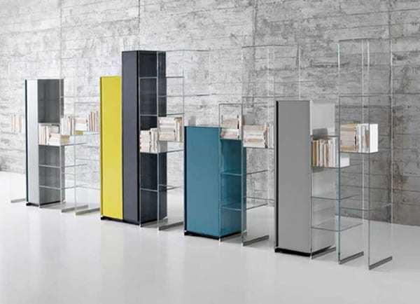 Freestanding Flexibility: City Wall Cabinets by Antonio Lupi