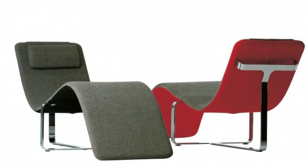 Sculptural Seating: The Flipt Chaise Lounge by Baleri