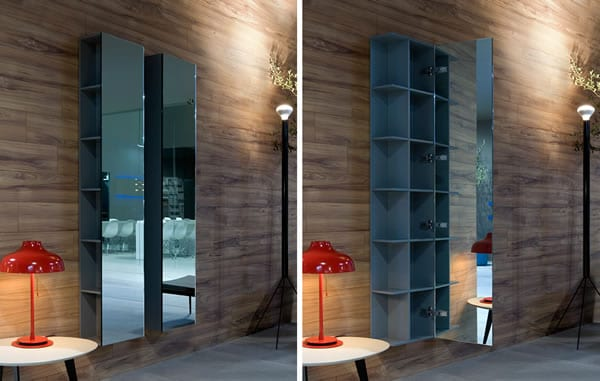 mirrored wall cabinets