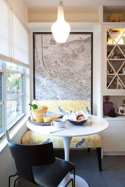 Creating A Modern Breakfast Nook