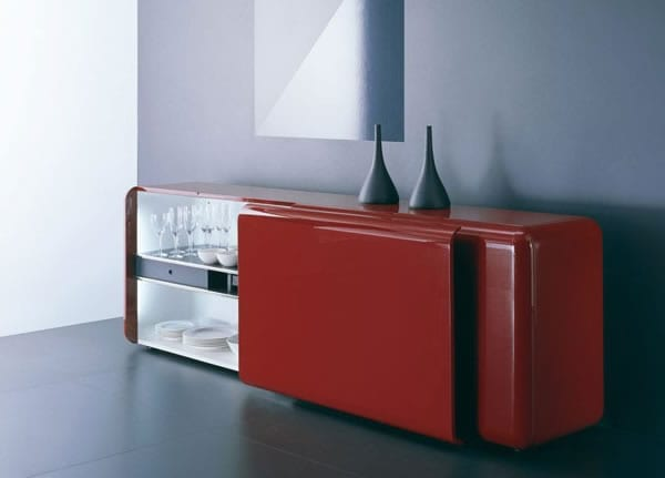 Sleek Sideboard: Superego Storage Unit by Acerbis