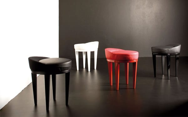 Stylishly Simple: Venus/O Contemporary Stool by Potocco